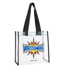 WrestleMania 33 Clear Tote Bag
