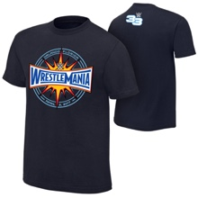 WrestleMania 33 Logo Youth T-Shirt