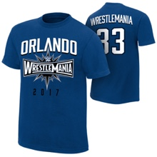 "WrestleMania 33 ""Orlando"" Blue T-Shirt"