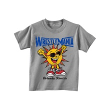 WM33 HAPPY SUN TODDLER GREY T-S 2T
