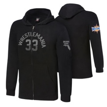 WrestleMania 33 Charcoal Grey Youth Lightweight Hoodie Sweatshirt