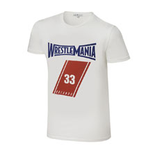 WrestleMania 33 Junk Food White T-Shirt