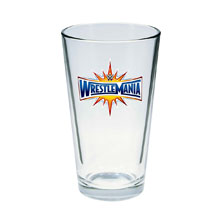 WrestleMania 33 Toon Tumbler Pint Glass