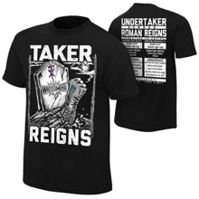 WrestleMania 33 Roman Reigns vs. Undertaker Match T-Shirt