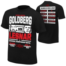 WrestleMania 33 Goldberg vs. Brock Lesnar Match T-Shirt