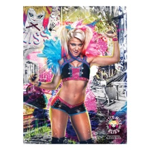 Alexa Bliss WrestleMania 33 18 x 24 Poster