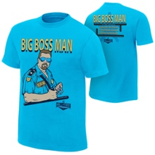 "Big Bossman ""Hall of Fame 2016"" T-Shirt"