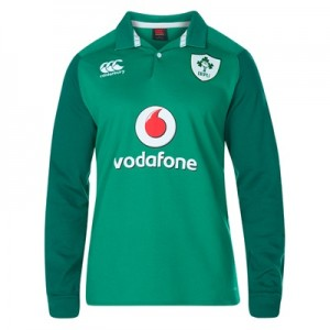 """Ireland Rugby Vapodri Home Classic Shirt 2017-18 – Long Sleeve"""