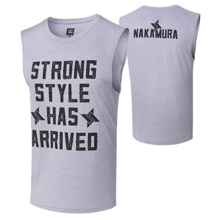 "Shinsuke Nakamura ""Strong Style Has Arrived"" Muscle Tank"