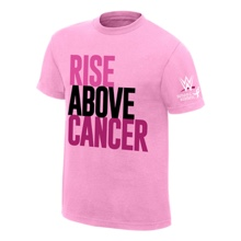 WWE Rise Above Cancer Youth Pink T-Shirt