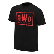 nWo Wolfpac Black & Red T-Shirt