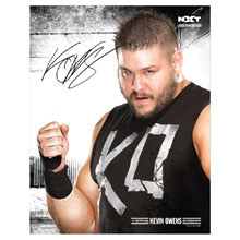"Kevin Owens 11"" x 14"" Signed Photo"