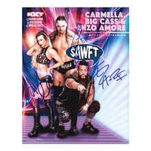 "Enzo and Cassady with Carmella 11"" x 14"" Signed Photo"