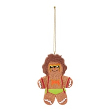 Ultimate Warrior Gingerbread Ornament