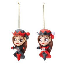 The Bellas Holiday Elves Ornament Set
