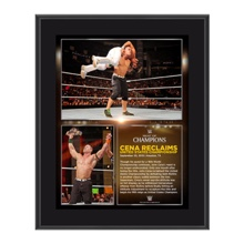 John Cena Night of Champions 2015 10.5 x 13 Photo Collage Plaque