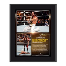 Seth Rollins Night of Champions 2015 10.5 x 13 Photo Collage Plaque