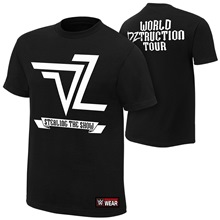 "Dolph Ziggler ""World DZtruction Tour"" Authentic T-Shirt"