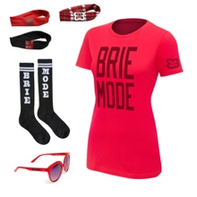 "Brie Bella ""Brie Mode""  Women's T-Shirt Package"