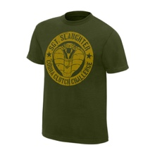"Sgt. Slaughter ""Cobra Clutch Challenge"" Legends T-Shirt"