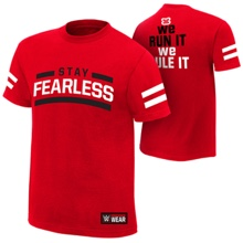 "Nikki Bella ""Stay Fearless"" Authentic T-Shirt"