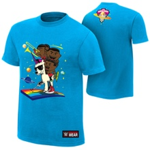 "The New Day ""Feel The Power"" Authentic T-Shirt"