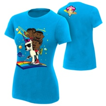 "The New Day ""Feel The Power"" Women's Authentic T-Shirt"