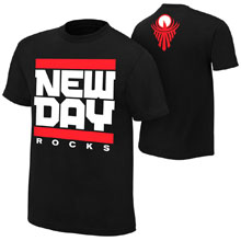 "The New Day ""New Day Rocks"" Authentic T-Shirt"