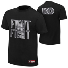 "Kevin Owens ""The Prizefighter"" Authentic T-Shirt"