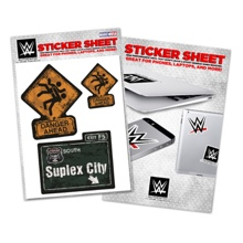 "Brock Lesnar ""Suplex City"" Sticker Sheet"