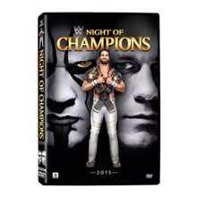 WWE Night of Champions 2015 DVD