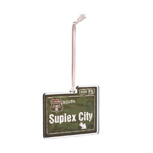 "Brock Lesnar ""Suplex City"" Logo Ornament"