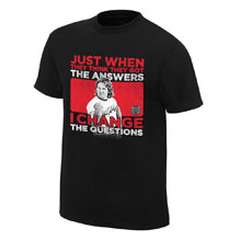"Roddy Piper ""I Change the Questions"" Vintage T-Shirt"