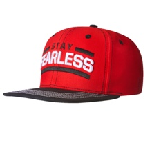 "Nikki Bella ""Stay Fearless"" Black Brim Snapback Hat"