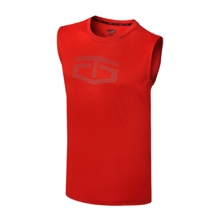 Tapout Power Tech Red Muscle Tee
