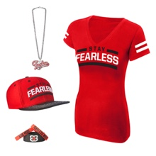 "Nikki Bella ""Stay Fearless"" Women's T-Shirt Package"