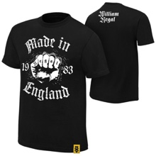 "William Regal ""Made in England"" Authentic T-Shirt"