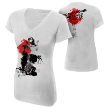 "Asuka ""Tomorrow Brings Danger"" Women's V-Neck Authentic T-Shirt"