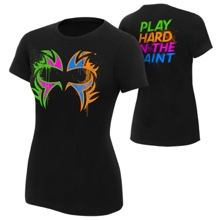 "The Usos ""Play Hard in the Paint"" Women's Authentic T-Shirt"