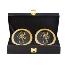 Sting WWE World Heavyweight Championship Replica Title Side Plate Box Set