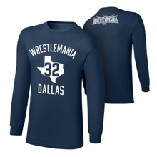 "WrestleMania 32 ""Dallas Branded"" Long Sleeve T-Shirt"