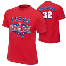 WrestleMania 32 Red Youth Jersey T-Shirt