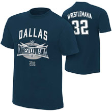 WrestleMania 32 Blue Jersey Youth T-Shirt