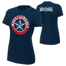 "WrestleMania 32 ""Lone Star"" Women's T-Shirt"