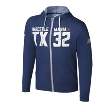 WrestleMania 32 Full-Zip Hoodie Sweatshirt