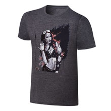 Sasha Banks Rob Schamberger Artwork T-Shirt