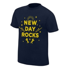 "New Day ""New Day Rocks"" Vintage T-Shirt"