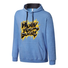 "Enzo and Cass ""How You Doin'?"" Pullover Hoodie Sweatshirt"