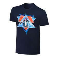 AJ Styles Rob Schamberger Artwork T-Shirt
