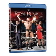 WWE Royal Rumble 2016 Blu-Ray